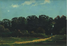 """Park in Viktring""LUDWIG WILLROIDER"